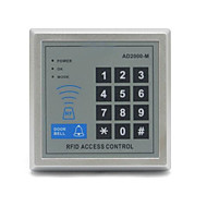 Ad-2000m 125khz rfid controle de acesso da porta com teclado digital / modo de abertura múltipla