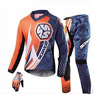 Scoyco ジャケットパンツセット オックスフォード 男性用 オールシーズン 反射 最高品質 高品質 オートバイの腎臓ベルト