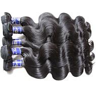 maior parte do corpo de cabelo peruano superior 1kg 10bundles muito natural virgem material de cor de cabelo humano feito tecido original