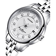 Women's Mechanical Watch Automatic self-winding Noctilucent Alloy Band Silver Gold