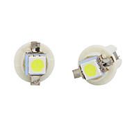 10pcs T5 LED pærer hvite