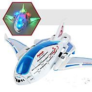 Letadlo LED osvětlení Lérající gadget Auto hračky Plast