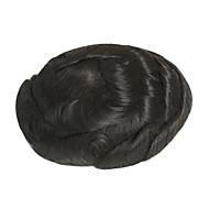 mens hairpiece swiss δαντέλα με βάση χαμηλής πυκνότητας mens toupee 6inch * 8inch ανθρώπινη μαλλιά toupee