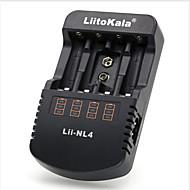 2017 Liitokala Lii-NL4 Wiederaufladbare 12 V AA/AAA NiMH Batterien 9 V