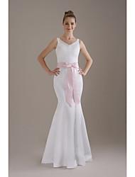 Cetim Casamento / Festa/Noite Faixa-Laço FemininoPreto / Trevo / Rosa Corado / Rubi / Marfim / Branco / Dourado / Lilás / Borgonha /