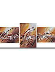 Handmade Abstract Painting Stretched Ready to Hang (0695 -AB-382)