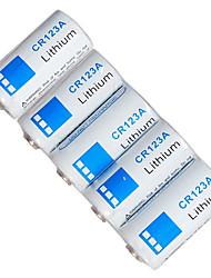 wf CR123A 3.0v bateria de lítio primária (5-pack)