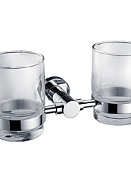 Bathroom Accessories Solid Brass Double Tumbler Holder (0640-3304)