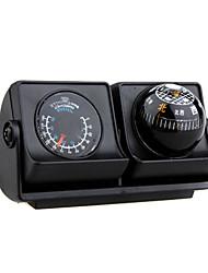 coches de navegación vehículos brújula bola con termómetro - ángulo ajustable lp-503 (szc2396)