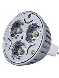 Lampadina LED luce bianca/calda MR16 3W 270LM 3000K (12V)