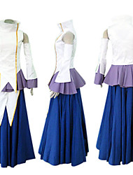 Gundam Seed lacus traje cosplay Clyne