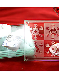 Snowflake Coasters(set of 2)