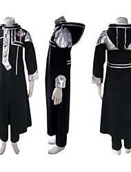 Inspired by D.Gray-man Allen Walker Anime Cosplay Costumes Cosplay Suits Patchwork Black Long Sleeve Coat / Pants / Badge