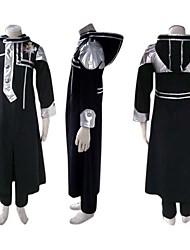 geinspireerd door D.Gray-man Allen Walker Anime Cosplay Kostuums Cosplay Kostuums Patchwork  Zwart Lange mouw Jas / Broeken / Insigne