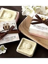 """""""Owl Always Love You"""" Scented Soap Wedding Favor"""