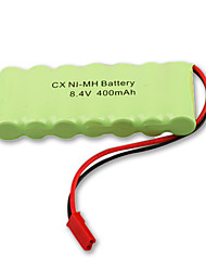 Ni-MH 8.4V 400mAh bateria recarregável (Ni-MH (8.4v400))