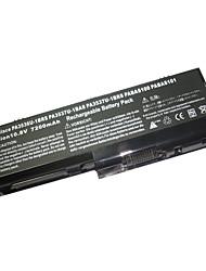 substituição da bateria do laptop toshiba gst3537 para a série EQUIUM P200 (10.8v 7200mAh)