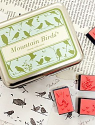 Mountian Birds DIY Craft Stamp Set