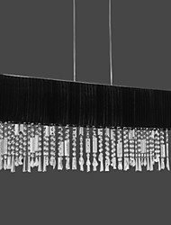 maishang® 4-lumière lustre en cristal avec abat-jour en tissu (1069-MC-22030