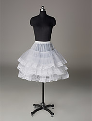 Nylon Half A-Line 3 Tier Short-Length Slip Style/ Wedding Petticoats