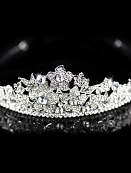 Alloy With Austria Rhinestones Wedding Bridal Tiara