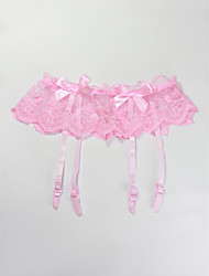 4 Straps Sexy Lace With Bowknot Garter Skirt Party Garters