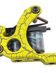 basso tenore di carbonio macchina shader tatuaggio con 10 bobine wrap (HB-wgd019-a)