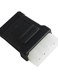 sata 15-pins female molex naar 4-pins male power adapter