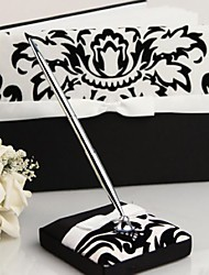 Guest Book / Pen Set Satin Garden ThemeWithBow / Sash