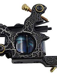 basso tenore di carbonio macchina shader tatuaggio con 10 bobine wrap (HB-wgd018-c)