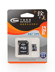 2GB TEAM MicroSD Memory Card and MicrsoSD Adapter
