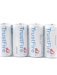 TrustFire CR123A Li-ion Battery Grey (4-pack)