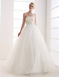 Lanting Bride® Ball Gown Petite / Plus Sizes Wedding Dress - Classic & Timeless / Glamorous & Dramatic Vintage Inspired Floor-length