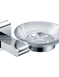 Chrome Soap Dish Holder  (0640)