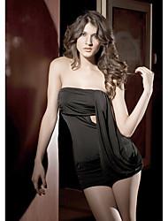 sexy acrílico curta duração sleepwear mais cores disponíveis