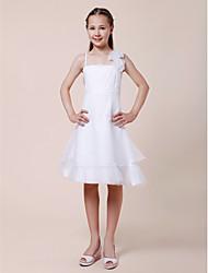 KARYME - Vestido de Daminhas Criança em Cetim Elástico