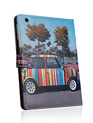 Leather Protective Case For iPad2-Street Scene