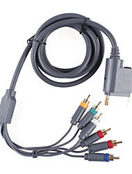 premium component video-en audio-AV-kabel voor de Xbox 360 (1.84cm-kabel)