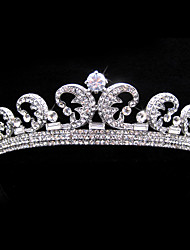 Gorgeous Alloy With Austria Rhinestones Wedding Bridal Tiara