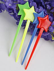 plastique étoiles tip fourches hor d'oeuvre (jeu de 50)