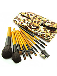 Mysterious Serpentine Golden Package Makeup Brush Set(12Pcs)