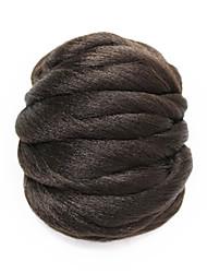 brun postiche synthétique chignon