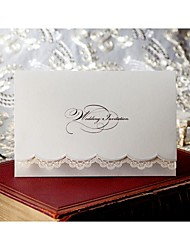 Wedding Invitation - Sweet Lace (set of 50)