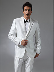 Single Breasted Two-button Notch Lapel Center-vented Groom Tuxedo