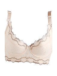 Cotton With Lace Demi Cup Adjustable Straps Wedding / Party Bra More Colors