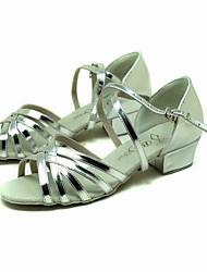 искусственная кожа верхних танцевать бальные туфли латинского обувь для детей более цветов