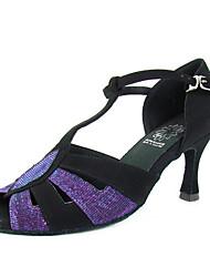 бархат / тафты верхней танцевать бальные туфли латинского обувь для женщин