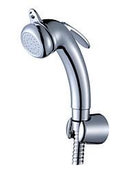 mano bidet spray de plata sin manguera de suministro y soporte de ducha