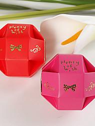exquisita caja redonda a favor (juego de 12)