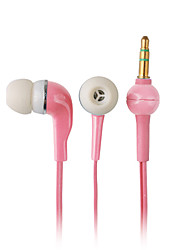 Elegant High-quality Earphones, 1.2m Cord, 3.5mm (Pink)